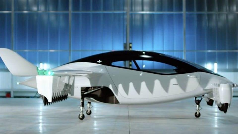 taxi volador eléctrico